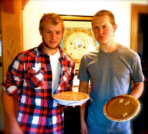 Pie boys